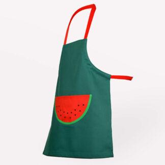 Kinderschürze Melone Pailletten