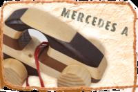 Holzauto / Modell Mercedes A