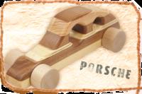 Holzauto Porsche